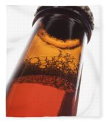 Beer Bottle Neck 2 F Fleece Blanket