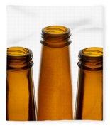 Beer Bottles 1 A Fleece Blanket