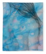 Before Bath Fleece Blanket