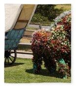 Begonia Horse Fleece Blanket