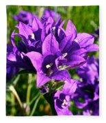 Bell Flowers Fleece Blanket