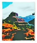 Bell Rock Sedona Arizona Fleece Blanket