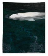 Beluga Impressions 2 Fleece Blanket