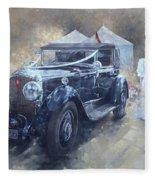 Bentley And Bride  Fleece Blanket