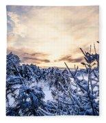 Bergen Winter Fleece Blanket
