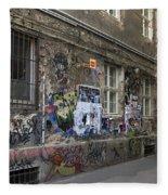 Berlin Graffiti - 1 Fleece Blanket
