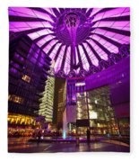 Berlin Sony Center Fleece Blanket