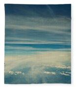 Between Earth And Sky Fleece Blanket