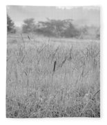 Between Mountains And Meadows Fleece Blanket