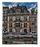 Beulingsluis. Amsterdam Fleece Blanket