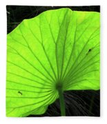 Big Leaf Fleece Blanket