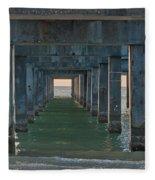 Big Pier 60 Clearwater Beach Fleece Blanket