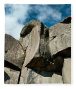 Big Rock Ear Fleece Blanket