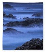 Big Sur Mist Fleece Blanket
