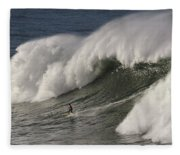 Big Wave II Fleece Blanket