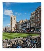 Bikes Cambridge Fleece Blanket