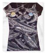 Billfish Ladies Shirt Fleece Blanket