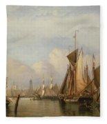 Billingsgate Wharf Fleece Blanket