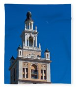 Coral Gables Biltmore Hotel Tower Fleece Blanket