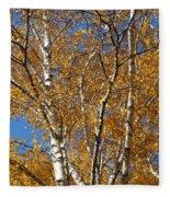 Birch Beauty Fleece Blanket