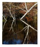 Birch Reflections Fleece Blanket