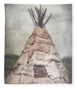 Birch Teepee Fleece Blanket