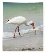 Bird Breakfast Fleece Blanket