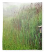 Bird House In Quogue Wildlife Preserve Fleece Blanket