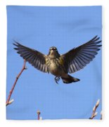 Bird Vs Bug Fleece Blanket