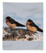 Birding Fleece Blanket