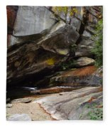 Birdrock Waterfall Fleece Blanket