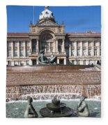 Birmingham Council Building Fleece Blanket