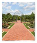 Birmingham Rose Garden Fleece Blanket