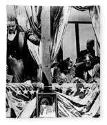 Birth Of A Nation, 1915 Fleece Blanket