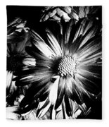 Black And White Fleece Blanket