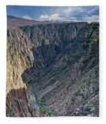 Black Canyon Afternoon Fleece Blanket