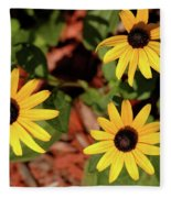 Black Eyed Susans Fleece Blanket