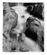Black River Cascade Detail Fleece Blanket