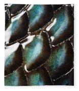 Black Sea Bass Scales Fleece Blanket