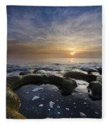Black Sea Fleece Blanket