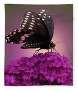 Black Swallowtail 1 Fleece Blanket