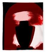 Black Urn Fleece Blanket