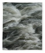 Black Water Fleece Blanket