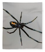 Black Widow Fleece Blanket