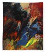 Blackbird Rainbow Blitz Fleece Blanket