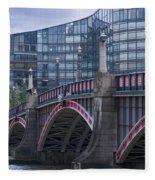 Blackfriars Bridge Fleece Blanket