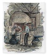 Blacksmith, C1865 Fleece Blanket