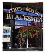 Blacksmith Shop Fleece Blanket