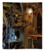 Blacksmith Workshop Fleece Blanket