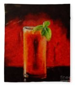 Bloody Mary Coctail Fleece Blanket